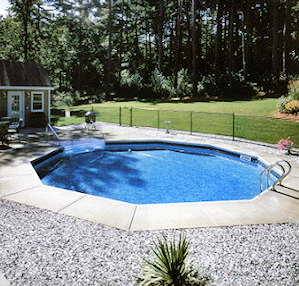 Swimming pool companies lehigh valley pools spas for Sutherlands deck kits