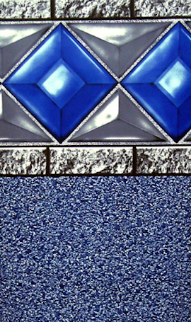 Above Ground Liners Blue Diamond