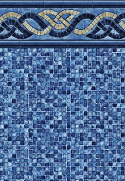 Inground Liners Nautical Braid / Mosaic