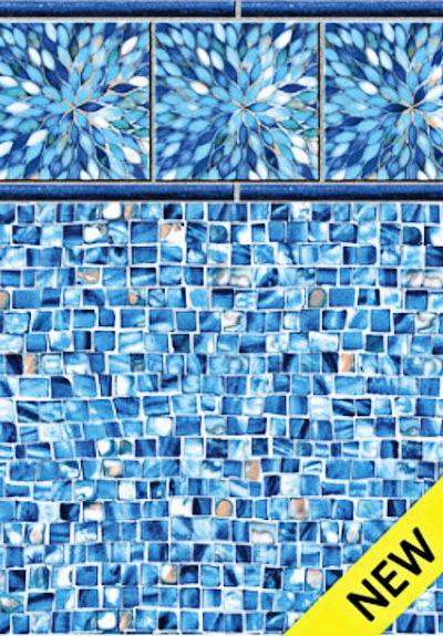 Inground Liners Sunburst / Azure Mosaic