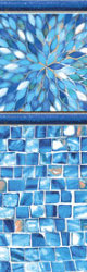 Inground Liners Sunburst / Azure Mosaic
