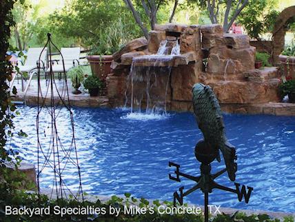 Waterfalls Five Foot Triple