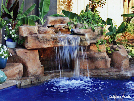 waterfalls loveseat grotto - Swimming Pools With Grottos