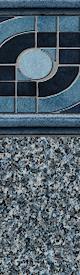 In Ground Liners Pinnacle / Gray Granite Floor
