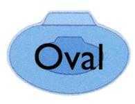 Fiberglass Add on Oval