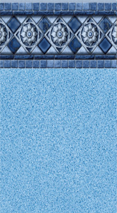 Inground Liners Florentine / Blue Crystal