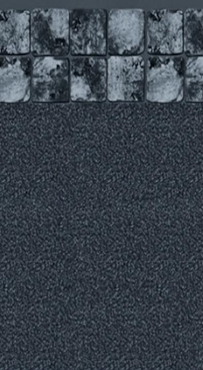 Inground Liners Gray Slate / Black Granite